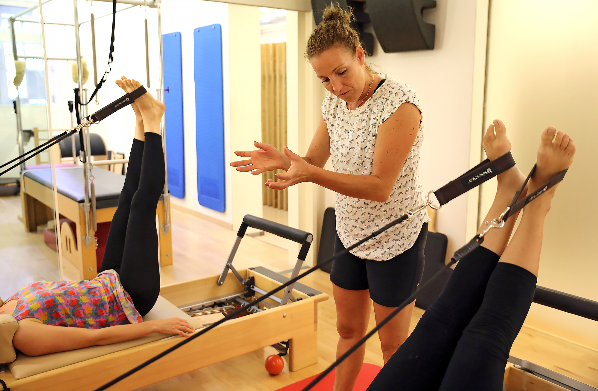 New to Reformer? Try 2 classes for € 40!