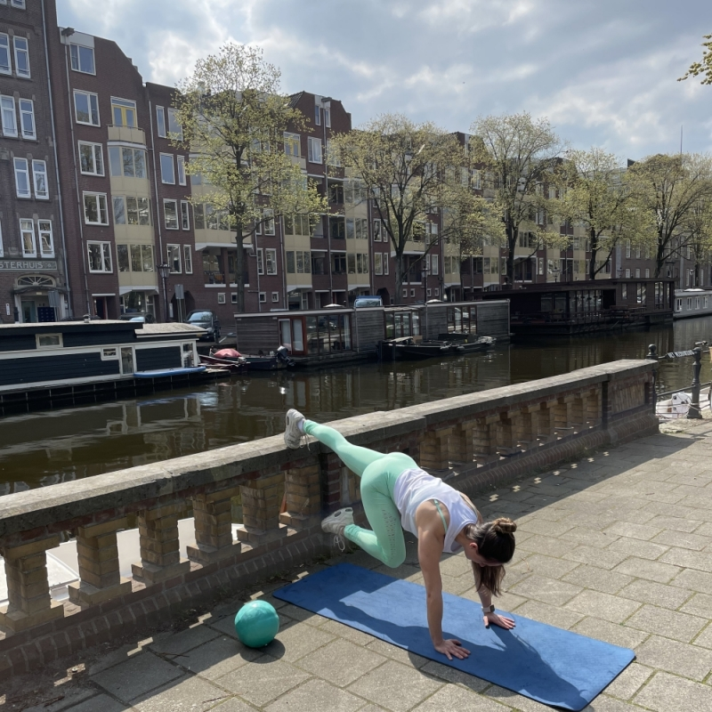 Total workout bal 4 -Studio AnnaMora-Amsterdam